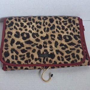 Modella Cosmetic Leopard Bag